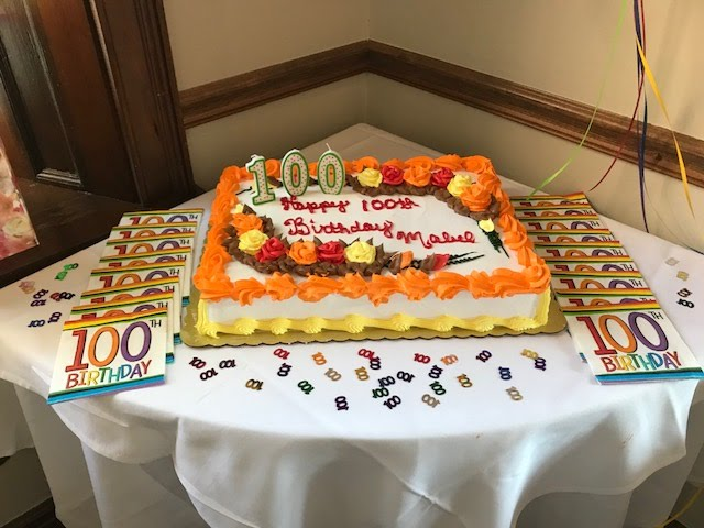 Photos from Mabel Clapp's 100th Birthday Weybridge Celebration